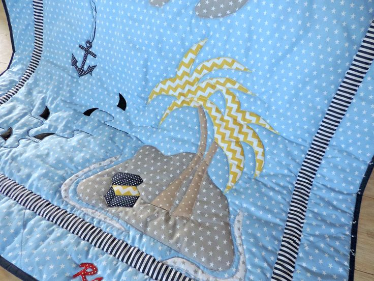 Your boy will adore this Modern Nautical Personalised Quilt- Modern Pirates Quilt. It is a funny, modern and colourful Patchwork Boy Quilt for your little boy. Order here: https://www.etsy.com/listing/471748588/personalised-gift-for-boy-boy-nautical?ref=shop_home_active_13
