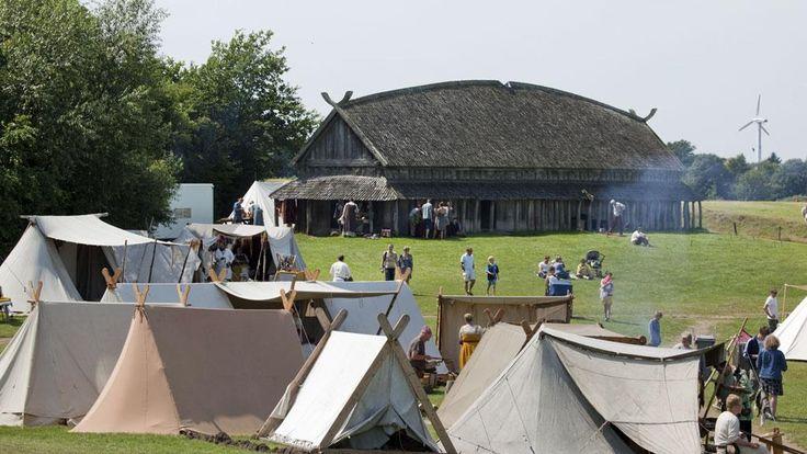 Reconstitution au Danemark | Les Vikings