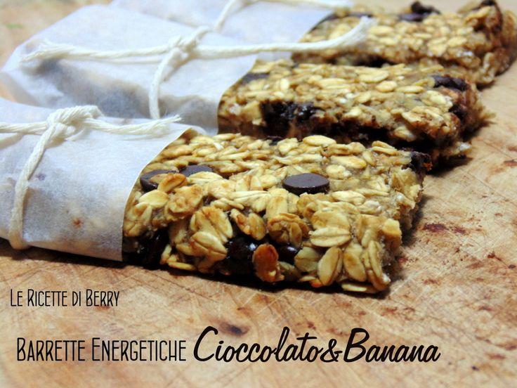 Barrette energetiche fatte in casa, barrette di avena e cioccolato senza zucchero da preparare a casa per uno snack o uno spuntino leggero, consigliate ...
