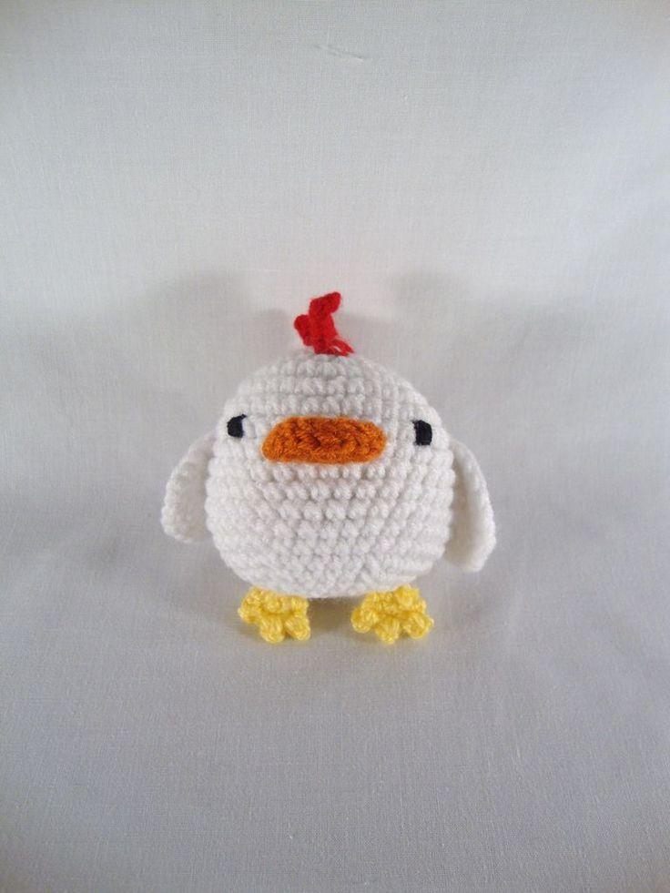 Amigurumi Chicken Free Pattern : 125 best Gente con Arte: Patrones gratis de amigurumi ...