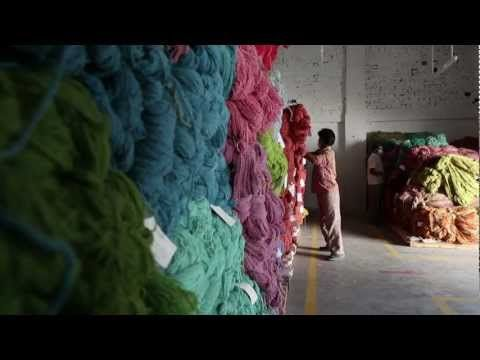 Art Of Creating A Tufted Rug By Company C - YouTube