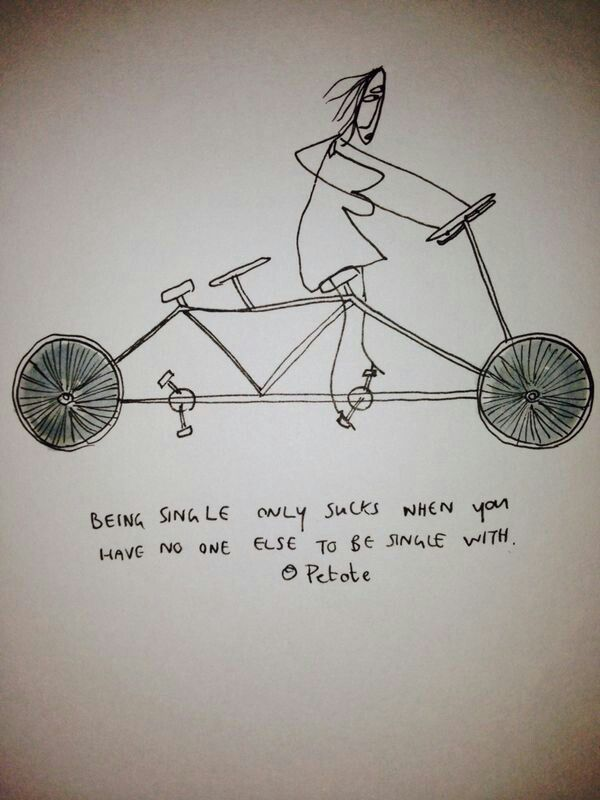 A best friend is just one soul in two bodies... #thesinglelife #needfriends #bicycle #blinkstefanus
