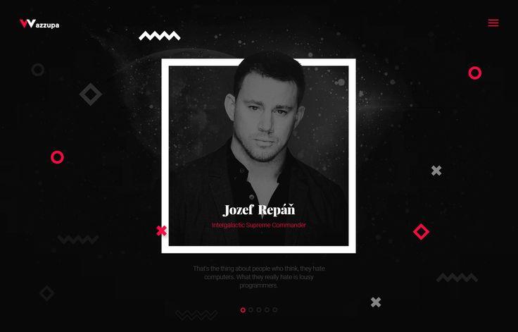 Wazzupa // development & design agency // new identity