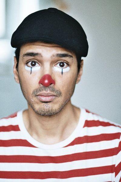 Bildergebnis für Gesichtsbemalung Pantomime mann