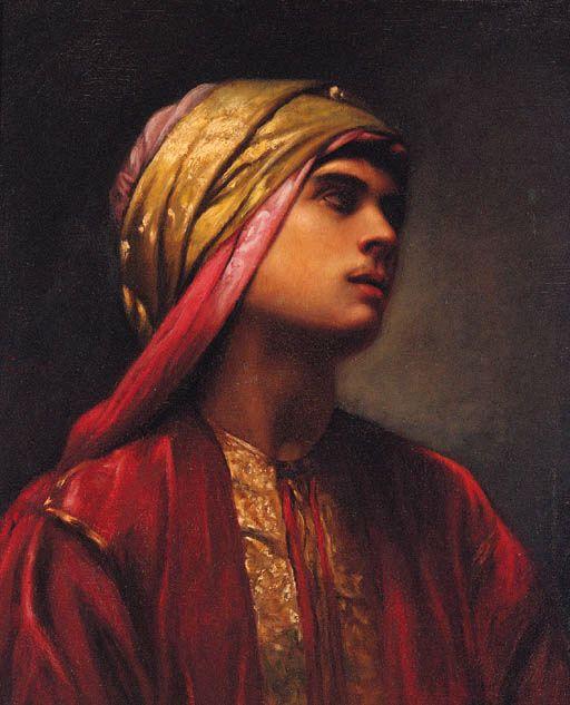 Gabriel Paul Guillot (French, 1850-1914) An Arab prince