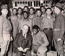March 25, 1931 – The Scottsboro Boys are arrested in Alabama and charged with rape.