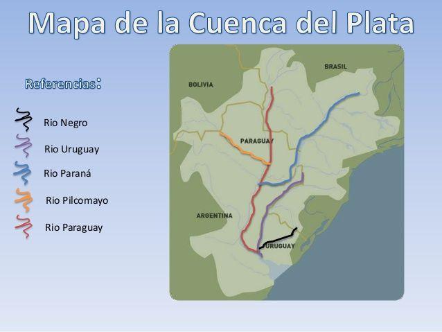 https://www.pinterest.com/avenidaazul/  Cuenca del Plata  http://www.slideshare.net/GeografiaGPSGeografi/cuenca-del-plata-60976633