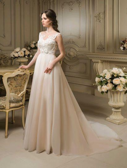 Svadobné šaty pre budúcu mamičku