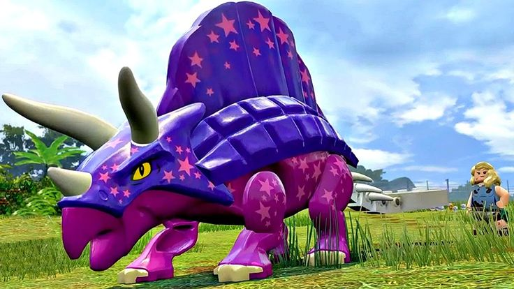 Мир Юрского Периода.Созданные Динозавры.Игры Мультики про Динозавров.Leg...