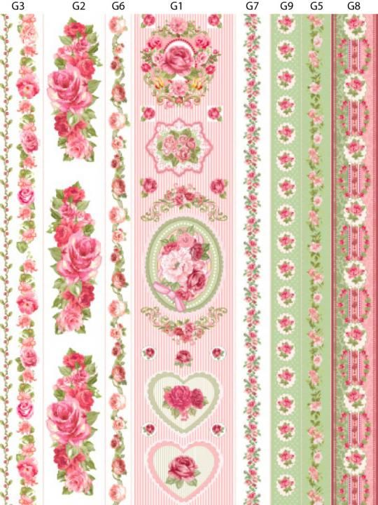 rosas para decoupage - Google Search