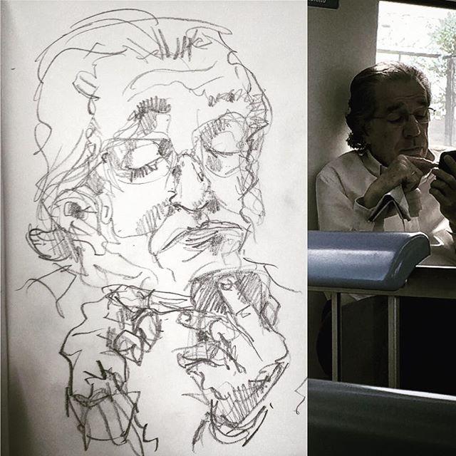 #gentequesedibujaeneltren #dibujo #dibujar #sketch #sketchbook #art #drawing #boceto #bocetorapido
