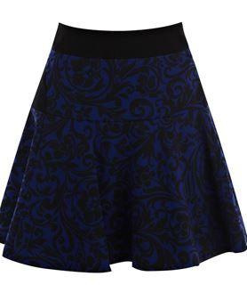 Brocart perint Skirt Karren Millen