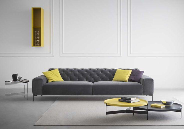 Boston, divano lineare di Pianca | lartdevivre - arredamento online