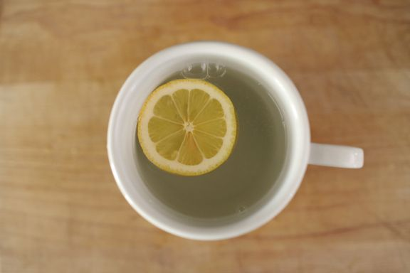 DIRECTIONS FOR YOUR WARM LEMON WATER IN THE MORNING:    1 // Lightly heat the water (Not too hot or it will kill the nutrients in the lemon juice) & pour it into a mug  2 // Squeeze half a lemon into your mug  3 // Add just a touch of honey    Good for stomach, natural skin care, throat infections, weightloss, high blood pressure, respiratory disorders, rheumatism, fever, blood purifier.  Read more here.
