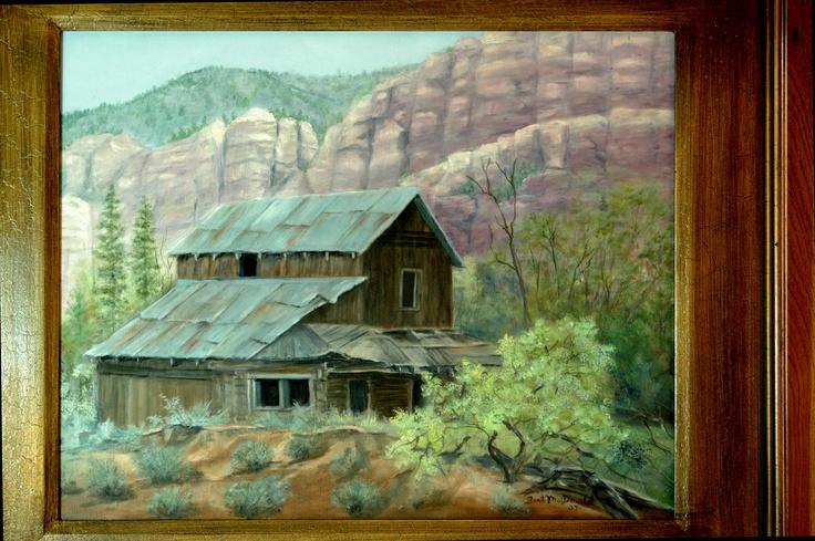 Chama River Homestead, Original Oil