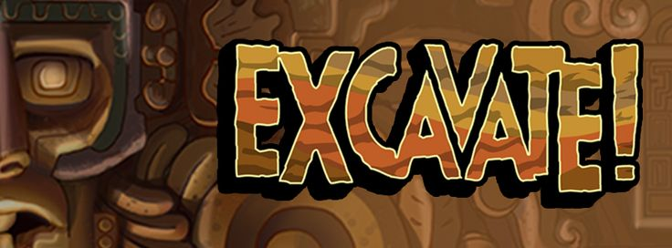 excavate archaeology game banner