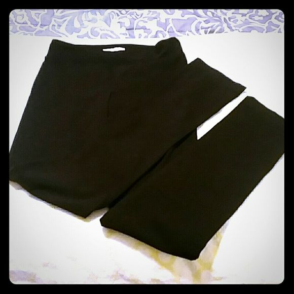 Stitch Fix Margaret M pants! These Margaret M Emer pants are amazing and super flattering.  Straight leg with 31 in inseam. Black.  These have only been worn a few times! Pants Straight Leg