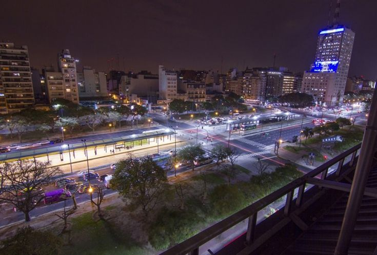 new connected LED lighting in buenos aires can be controlled from a computer - designboom | architecture