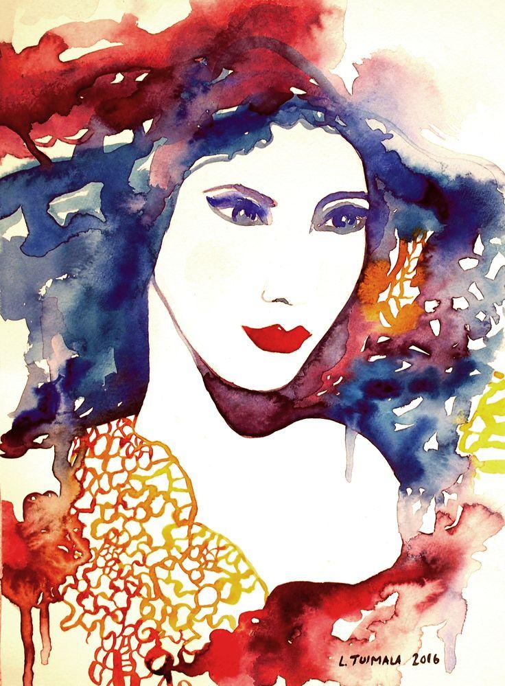 http://www.liisatuimala.com #watercolor #art