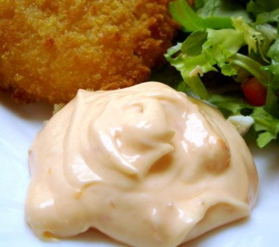 KFC Zinger Sauce Copycat Recipe   FastFood-Recipes.com   This KFC Zinger Sauce Recipe in combination with our KFC Zinger Burger recipe produces a truly tasty spicy chicken burger!