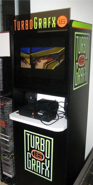 Turbografx kiosk