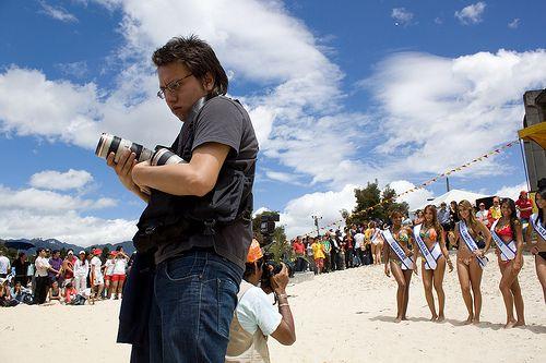 Miss Mundo Colombia, desfile en traje de baño 2010. El desfile se lleva a cabo a mediados del mes de Noviembre