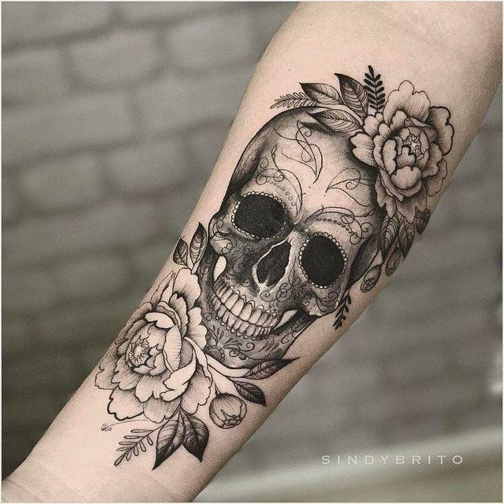Ja!! Ich möchte einen Schädel in meiner Blumenhülle – Art