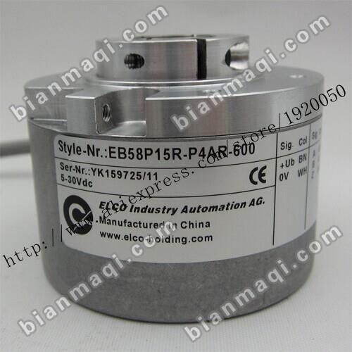 The  Elco ELCO EB58P15R-P4AR-600 rotary  encoder 600 air shaft 14mm600 line #Affiliate