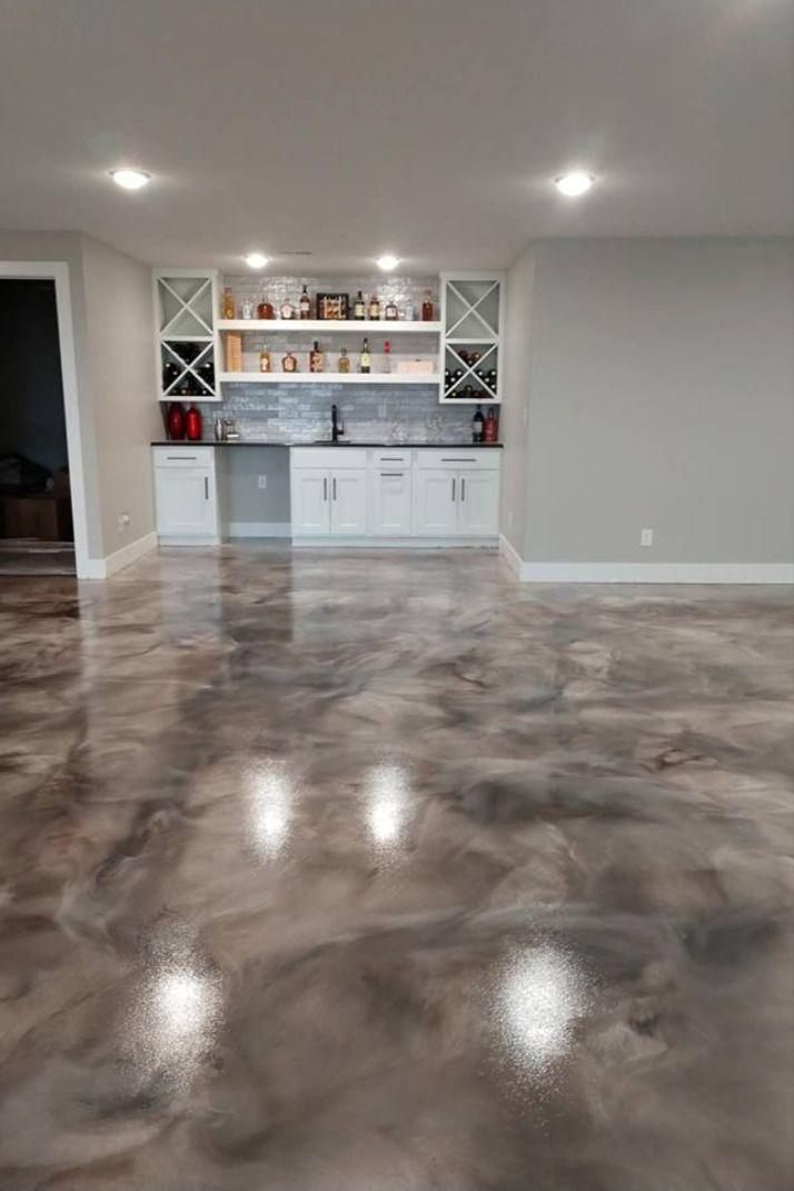 Long Lasting Epoxy Basement Floor In 2020 Residential Flooring House Flooring Basement Flooring