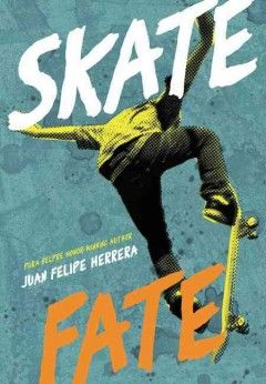 Skatefate by Juan Felipe Herrera ----- Lucky Z, a Chicano foster child, loved living on the edge until a drag racing accident left him in a wheelchair, but as he struggles to find his place in a new high school, he begins writing poetry everywhere about anything, and in finding his voice he also discovers the beauty around him. (2/17)