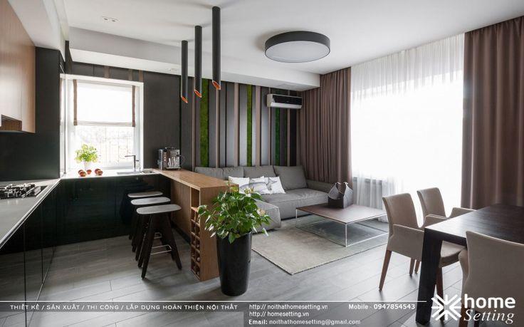 Thiết kế nội thất căn hộ CH – 07 tòa D chung cư Imperia Garden
