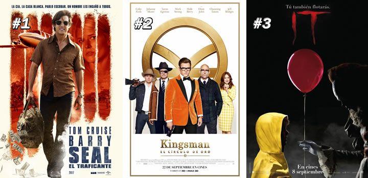 Taquilla USA: Barry Seal gana en la foto finish el nº1 a Kingsman 2 e IT