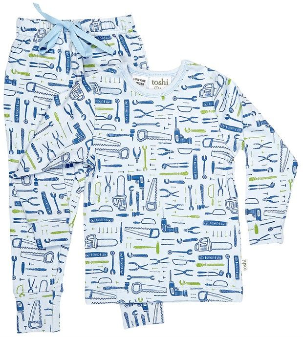 Long Sleeve Pyjamas Tools by Toshi