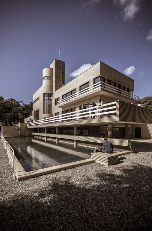Villa Cavrois, 1929-1932 // architect  Robert Mallet-Stevens | photo by laurent Dequick