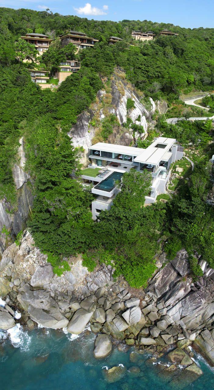 Luxury Villa Amanzi, Phuket, Thailand by Original Vision Studio