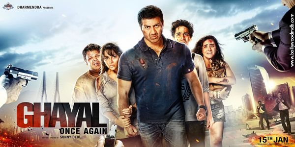 movie review : Ghayal once again movie review