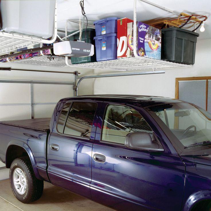 Diy Overhead Garage Shelf: 17 Best Ideas About Overhead Garage Storage On Pinterest
