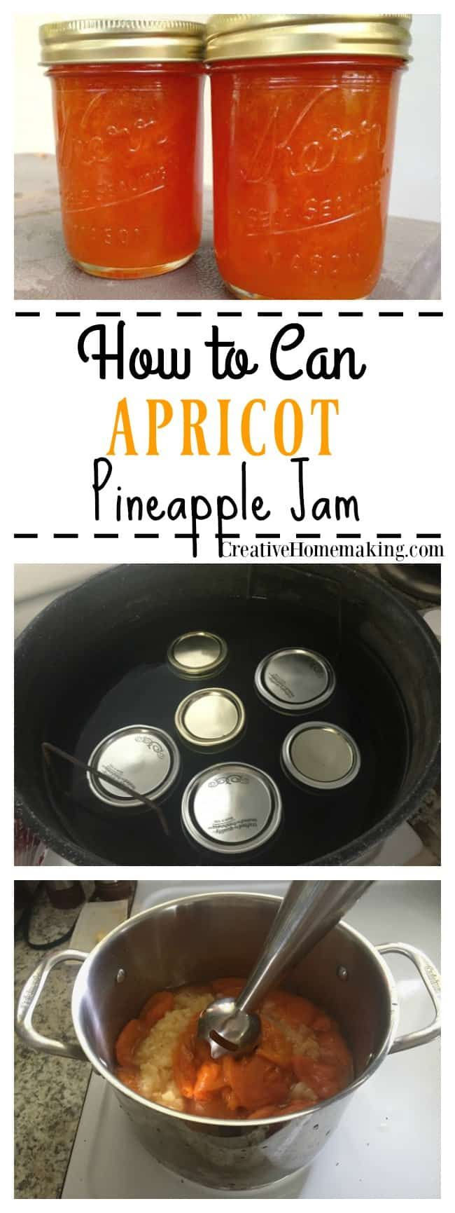 Canning Apricot Pineapple Jam