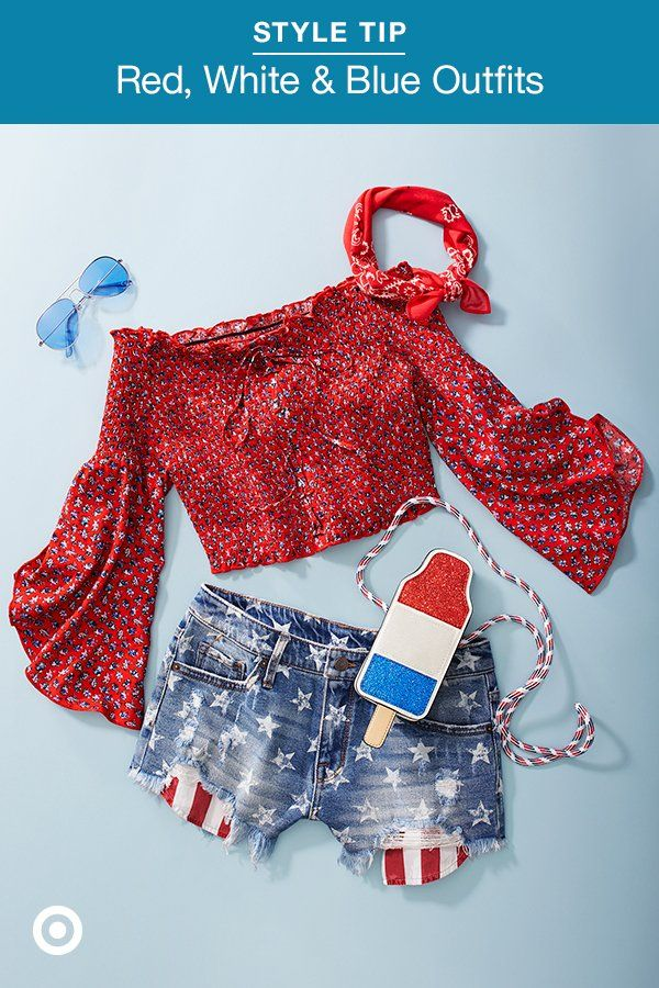 03aaedfcd9 Want casual outfit ideas for July 4th  These red