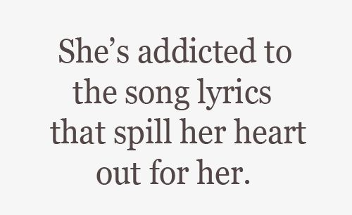Song Lyrics<3