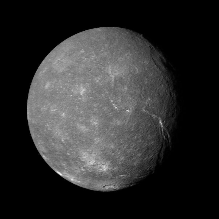 Titania - Moon of Uranus