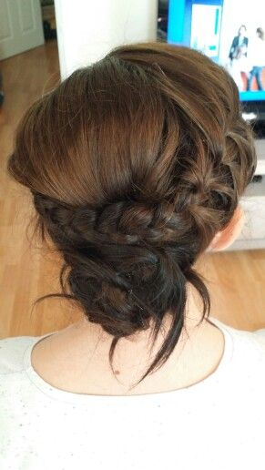 Bridal hairstyling by rubybmakeup