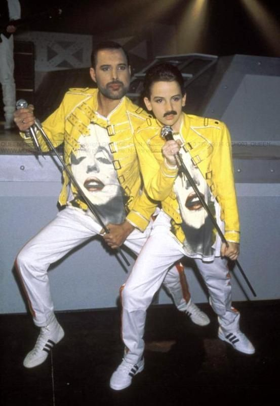 Freddie Mercury 1989 Miracles Photo Session
