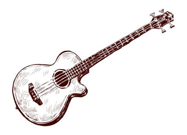 Acoustic Guitar Stock Vector Aff Guitar Acoustic Vector Stock Ad Guitar Vector Guitar Acoustic