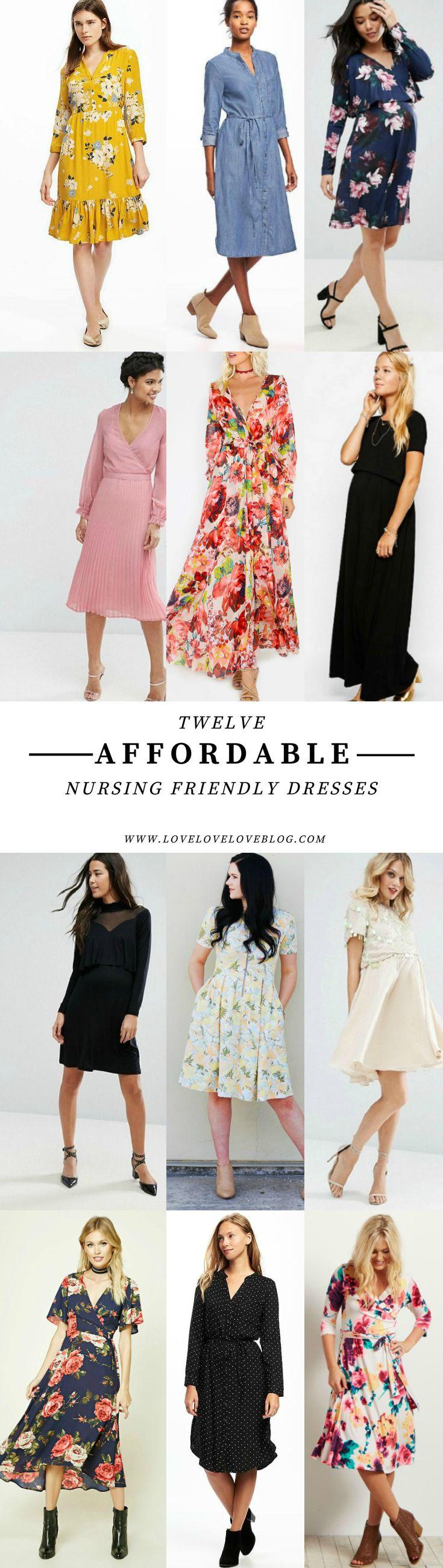 Love Love Love: Affordable Nursing Friendly Dresses