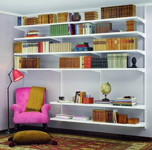 Elfa+Book+Shelving+-+Best+Selling+Solution+II