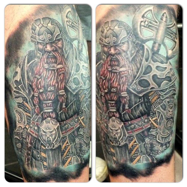 Lord of the rings gimli tattoo Can Lupo Tarz wear & Tattoo