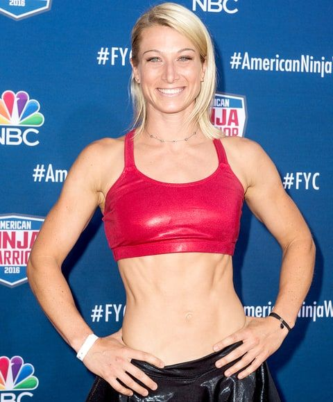 Jessie Graff AKA Supergirl, attends the screening event of NBC's 'American Ninja Warrior' in celebration of the show's first Emmy Award nomination at Universal Studios Hollywood on Aug. 24, 2016, in Universal City, CA.