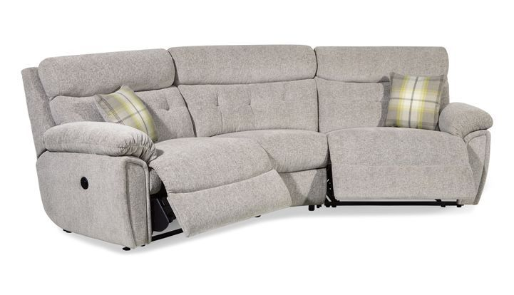 Dream 4 Seater Curved Power Recliner Sofa Power Reclining Sofa Reclining Sofa Sofa Sale