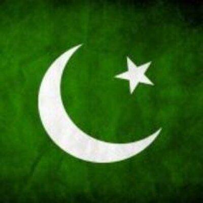 Luna & Estrella, Fondo Verde, Bandera Pakistán